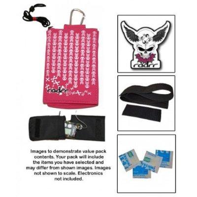 Insulin Pump Case Value Pack - Pink Skulls
