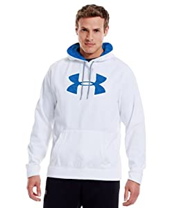 Under Armour Mens Armour® Fleece Storm Pattern Big Logo Hoodie by Under Armour