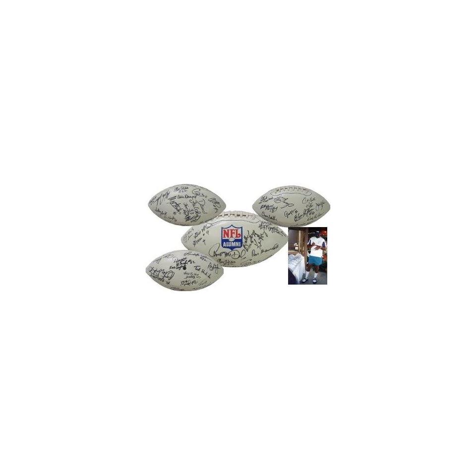Music City Alumni 37 signature Football NFL   Autographed Footballs