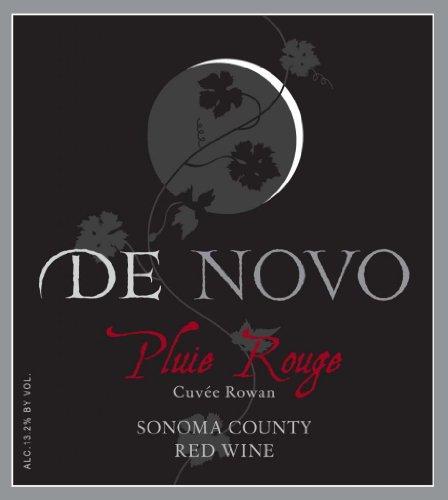 Nv De Novo Sonoma County Pluie Rouge Cuvée Rowan Red Blend 750 Ml