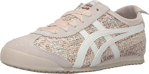 Onitsuka Tiger by Asics Women's Mexico 66? Off-White/Slight White Sneaker 9 B (M)