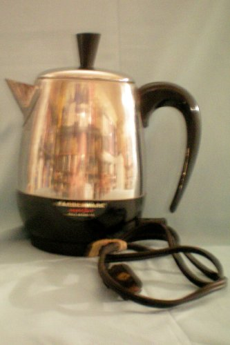 Electric Percolator Coffee Maker Reviews : Farberware Superfast Fully Automatic Electric Percolator with Cord [coffee pot] ? Model 142B ...