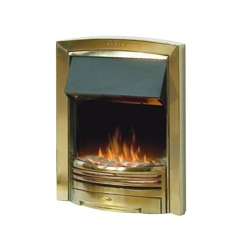Dimplex, ADAGIO BRASS CONTEMPORARY INSET FIRE