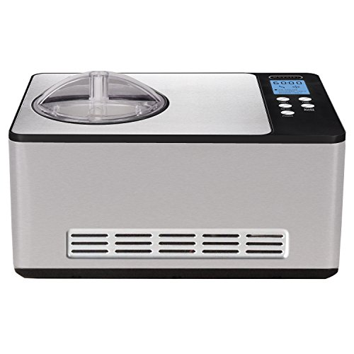 Whynter Icm-200Ls Stainless Steel Ice Cream Maker, 2.1-Quart, Silver front-602787