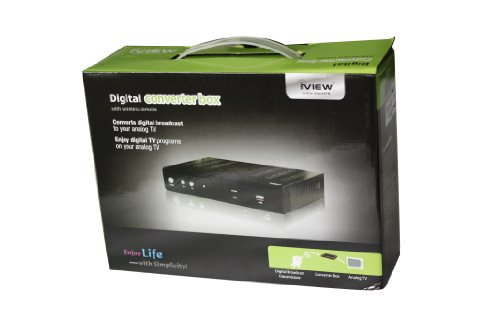 iview 3500STB Media player/Digital Converter Box with Recording (Black)