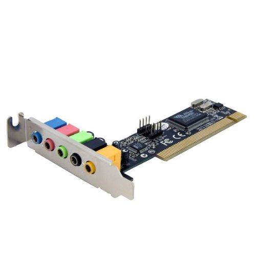 StarTech.com 5 Channel Low Profile PCI Sound Adapter Card ? 24 Bits