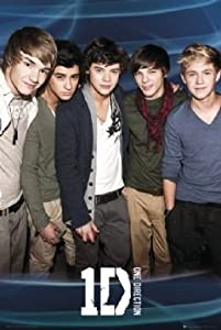 One Direction - Blue Poster - 915x61cm by GB