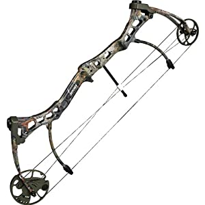 Bear Archery Strike Black Compound Bow Left Hand, 70#