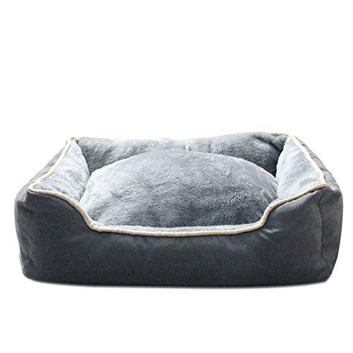 luxus-waschbar-pet-bett-grau-rechteckig-quadratisch-nackenrolle-nest-mit-abnehmbare-bezuge-ailina