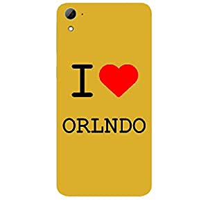 Skin4gadgets I love Orlando Colour - White Phone Skin for HTC DESIRE 826 W