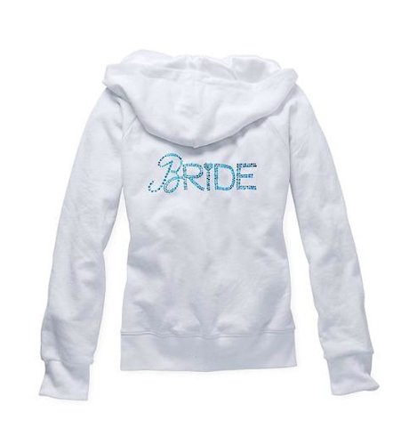 Victoria's Secret Sexy Little Things Bride Embellished Rhinestone Hoodie S