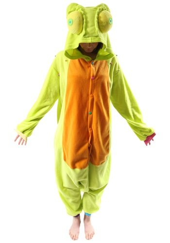 Bcozy Chameleon Onesie, Light Green/Yellow/Multi, One Size