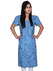 Polita Women's A-Line blue Dress