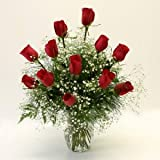 One Dozen Red Roses - Premium