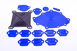 Jaz Products 730-007-01 Small Block Engine Block-Off Kit for Holley Carburetor # 4150