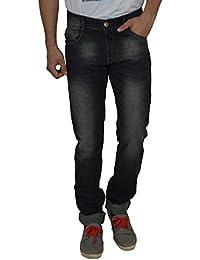 Studio Nexx Men's Grey Slim Fit Jeans
