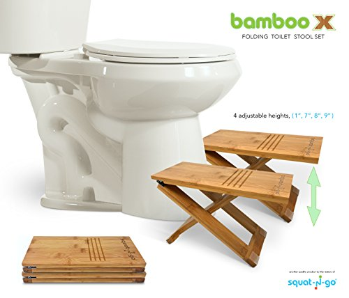 Excellent Deals On Squat N Go Bamboo X Adjustable Height Toilet Stool Cjindustries Chair Design For Home Cjindustriesco
