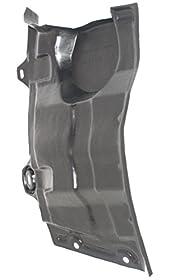 Evan-Fischer EVA20172045954 Engine Splash Shield Passenger Side RH Plastic
