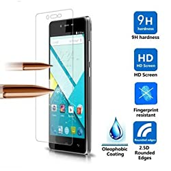 IVSO Blu Studio Energy Screen Protector - Ultra-thin 9H Hardness Highest Quality HD clear& Anti-Scratch/ Shatterproof/ Anti-Fingerprint/ Water Premium Tempered Glass Screen Protector (1pcs)