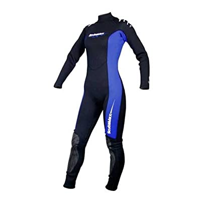 Scuba Max Womens 3mm Neoprene Full Wetsuit