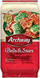 Archway, Bells & Stars Holiday Cookies, Limited Edition, 6oz Bag (Pack of 6)