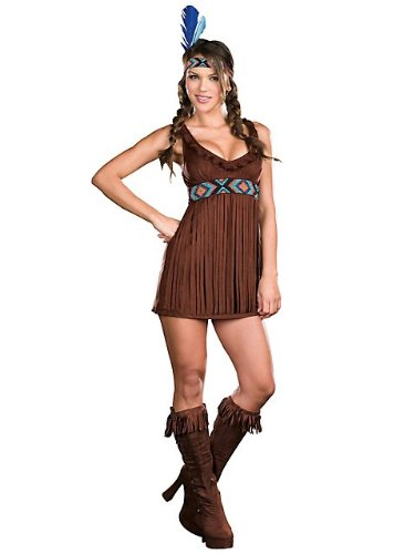 Dreamgirl Women's Tribal Trouble Adult Costume