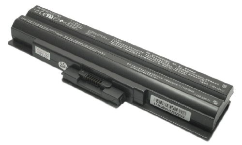 Sony Vaio VPC-YB15AL Stopple-And-Play Replacement Battery by TechRover� Max-Entity Series [Black]