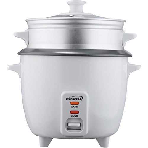 1 - Rice Cooker With Steamer (5-Cup), 400W, Nonstick Coated Inner Pot, Automatic Shutoff front-598184