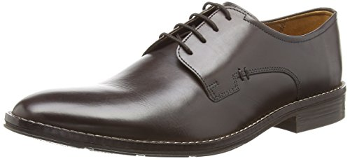 Hush Puppies Albert Bronson,  Marrone Brown (Brown Leather) 45