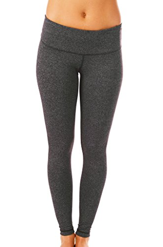 90 Degree By Reflex Power Flex Pant Heather Charcoal