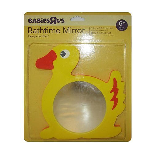 Babies R Us Bath Animal Foam Mirror - Duck - 1