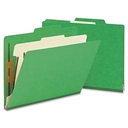 SMD13702 - Smead 13702 Green Classification File Folders