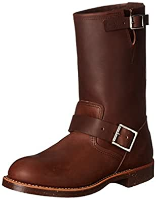 """Red Wing Heritage Engineer 11"""" Boot,Amber Harness ,4 D(M) US"""
