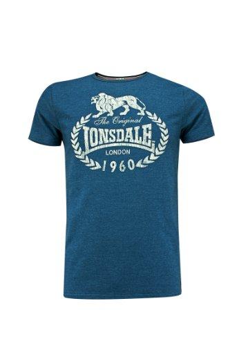 Lonsdale - T-Shirt Trägerhemd Ollie, Maglia a maniche lunghe Uomo, Blu (Marineblau), XS (Taglia Produttore: XS)