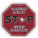 San Francisco 49Ers Stop Sign at Amazon.com