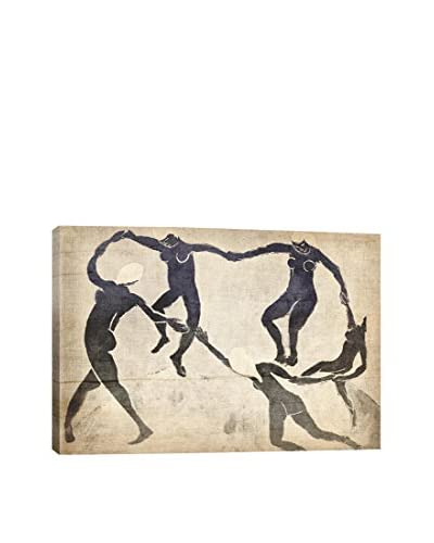 Dance V Gallery Wrapped Canvas Print
