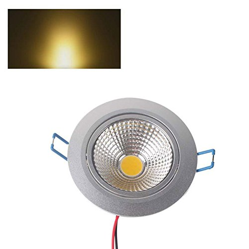 Led Dimmable Cob 10W Down Spot Light Ceiling Lamp Ac85-265V Warm White Fashion Partical