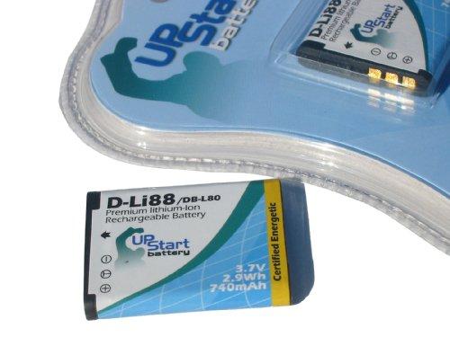 UpStart Battery D-LI88 Replacement Battery for Pentax Optio Digital Cameras