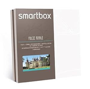 SMARTBOX - Coffret Cadeau - Folie royale