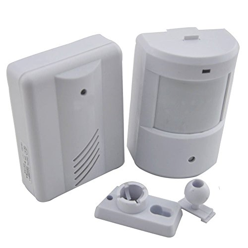 For Sale! Raoes Alarm Chime Doorbell Wireless PIR Infrared Monitor Sensor Detector Entry Door Bell