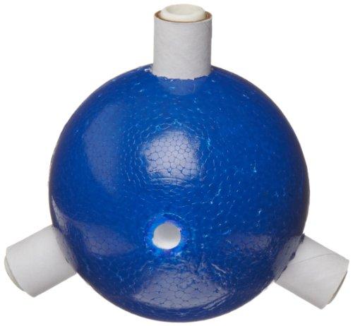 "Molecular Models Blue Polystyrene Trigonal Nitrogen Atom Center, 2"" Diameter"