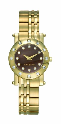 Betty Barclay BY102.20.111.858 Ladies Stone Encrusted Gold Plated Stainless Steel Bracelet Watch