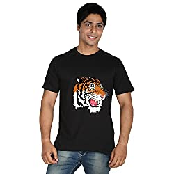 Trendster Tiger 1 Round Neck Printed T-Shirt