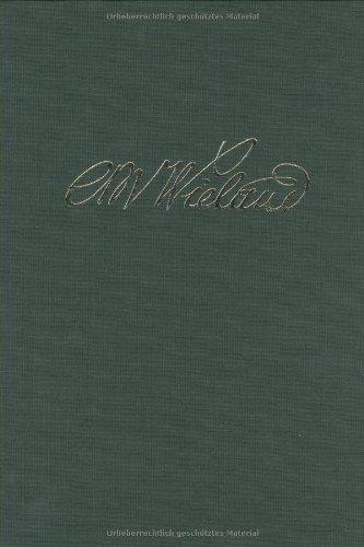 Wielands Briefwechsel: Band 18.2: Briefe Oktober 1809 - Januar 1813. Anmerkungen: Teil 2: Anmerkungen