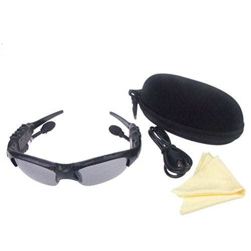 beboncool tm bluetooth v4 1 bluetooth sunglasses headset wireless sunglasses headphone. Black Bedroom Furniture Sets. Home Design Ideas