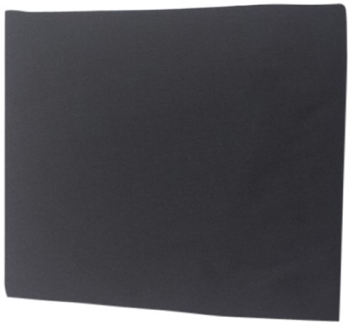 Baby Doll Solid Round Crib Sheet, Black front-754969