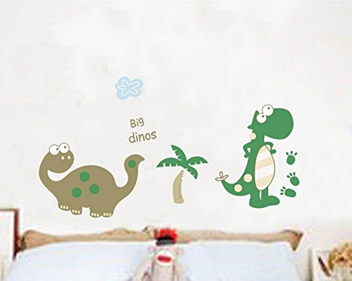 Home Wall Decor Decals Poster House Wall Stickers Quotes Removable Vinyl Large Wall Sticker For Kids Rooms Stickers Dinosaur W-473 front-450146