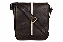 SCHARF Premium Leather Crossbody Messenger Bag