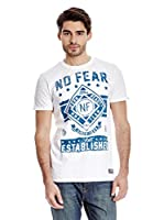 No Fear Camiseta Customs (Blanco)