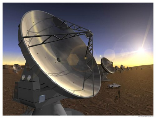 Astronomy Poster - Eso - Eso0540C - Artist'S Impression Of The Alma Project -...